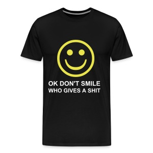 DON'T SMILE - Men's Premium T-Shirt