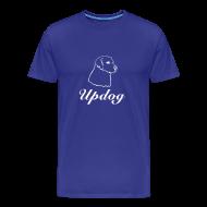 T-Shirts ~ Men's Premium T-Shirt ~ Men's Royal Blue Updog