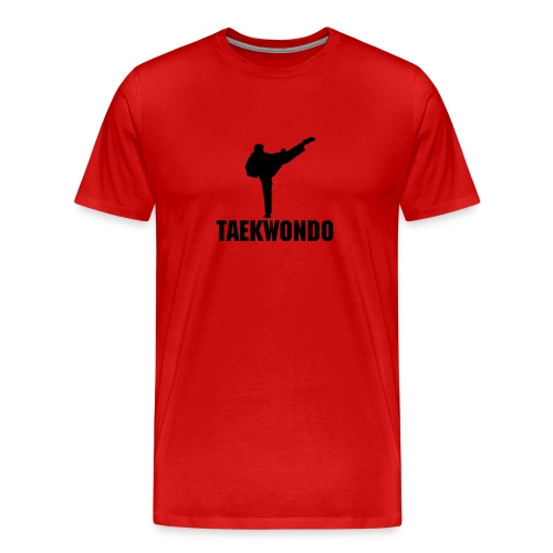 *NEW* Taekwondo Silhouette - Men's Premium T-Shirt