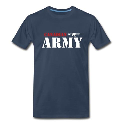 Canadian Army - Men's Premium T-Shirt