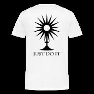 T-Shirts ~ Men's Premium T-Shirt ~ Eucharistic Adoration - Just Do It.