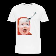 T-Shirts ~ Men's Premium T-Shirt ~ Big People Baby Head