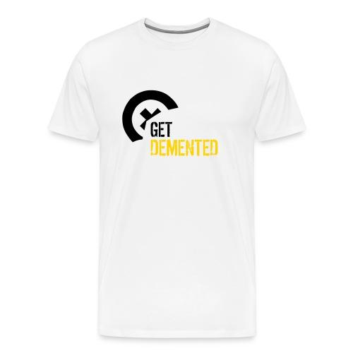 XXXL - Demented T-shirt [Demented:M:XXXL:T] - Men's Premium T-Shirt