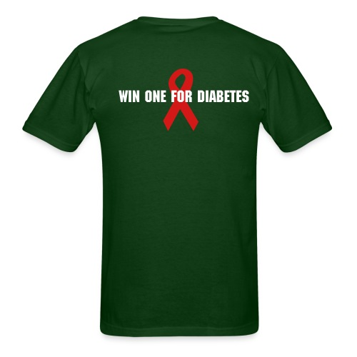 To all the diabetic mormens in niwot(bryan) - Men's T-Shirt