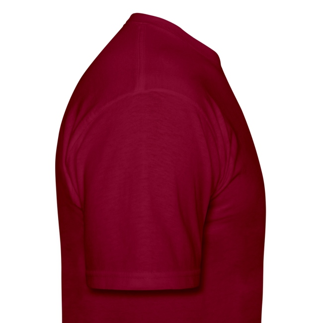 """""""just because you sucked"""" burgundy T"""