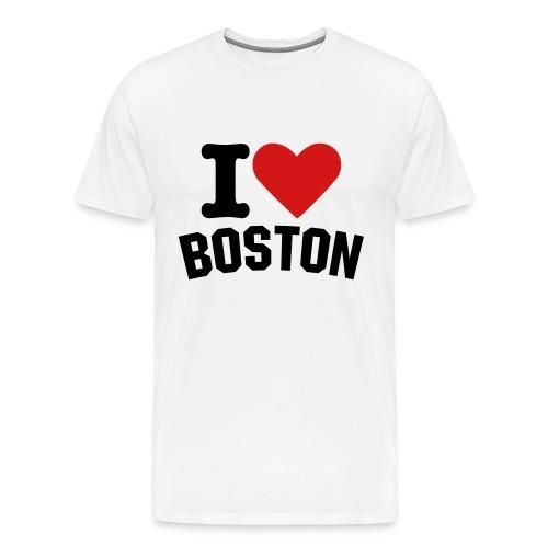 I Love Boston - Men's Premium T-Shirt