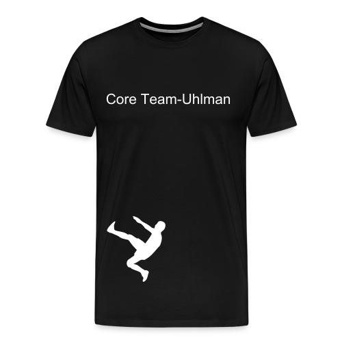 Victor C. Che Uhlman's Shirt name on front/back - Men's Premium T-Shirt