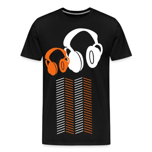 GS HeadPhones - Men's Premium T-Shirt