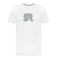 T-Shirts ~ Men's Premium T-Shirt ~ sports racer - white