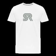 T-Shirts ~ Men's Premium T-Shirt ~ sports racer - white