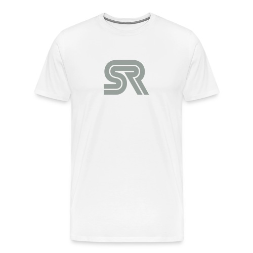 sports racer - white - Men's Premium T-Shirt