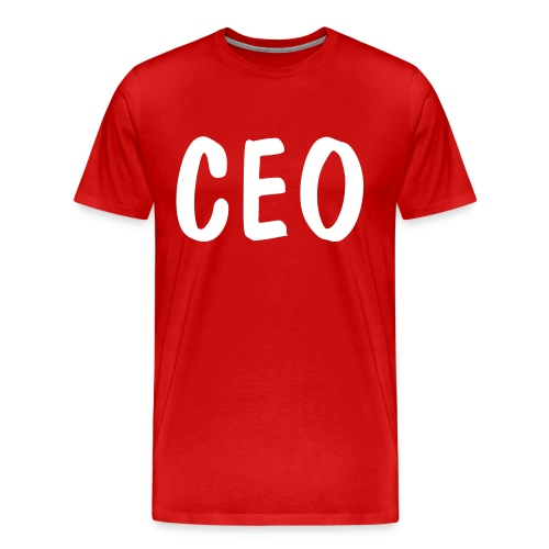 Red-T CEO - Men's Premium T-Shirt