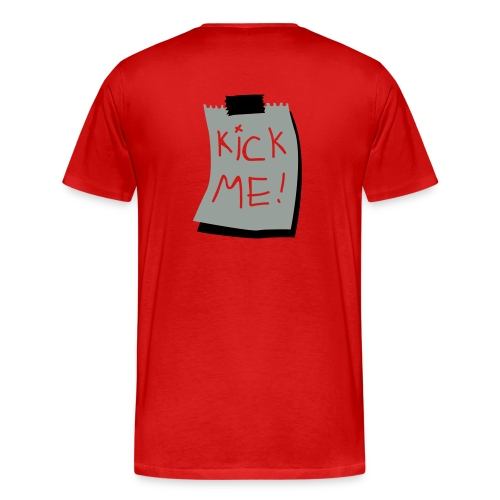 Kick ME Shirt - Men's Premium T-Shirt