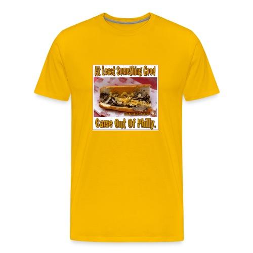 Philly Steak Gold Tee - Men's Premium T-Shirt