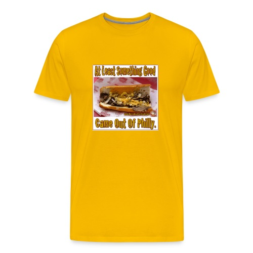 Philly Steak Gold Tee - Men's Premium T-Shirt