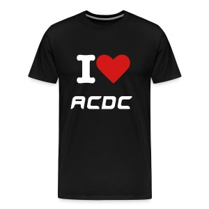 I love ACDC - Men's Premium T-Shirt