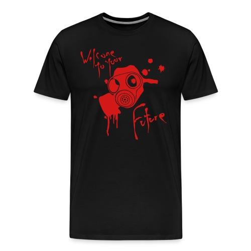 NP black tee - Men's Premium T-Shirt