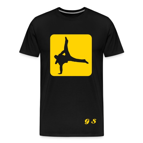 GS Break-Dancer - Men's Premium T-Shirt