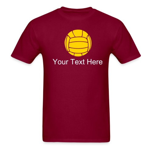 Personalized Volleyball T-Shirt - Men's T-Shirt