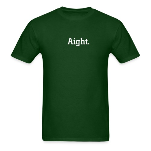 Aight Tee in green - Men's T-Shirt