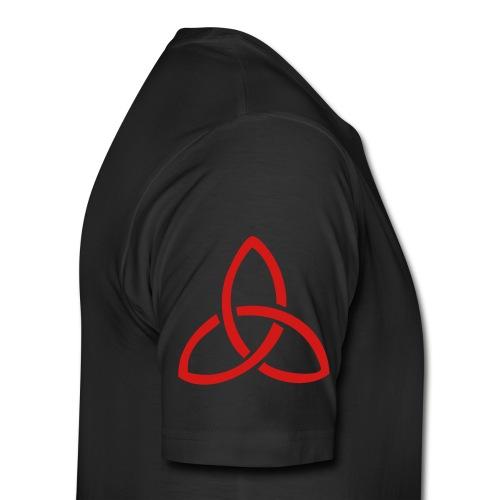 New Allegiance red Cross Tee - Men's Premium T-Shirt