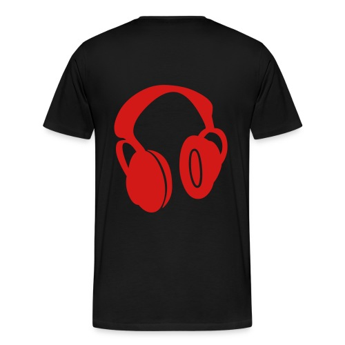 DJ Studdah Rocks My Headphones. - Men's Premium T-Shirt
