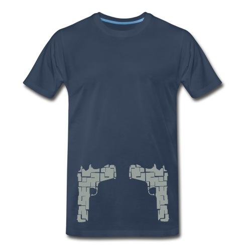 No Shot Tee - Men's Premium T-Shirt