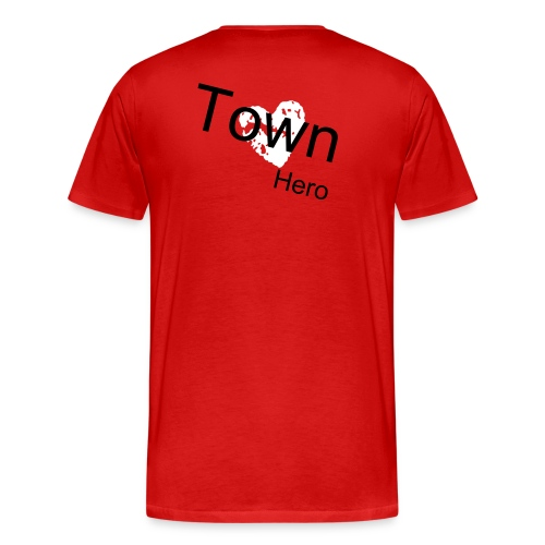 Town Hero (r) - Men's Premium T-Shirt