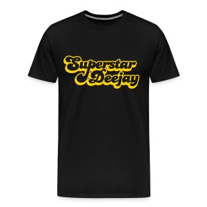 Super Star Deejay Gold - Men's Premium T-Shirt