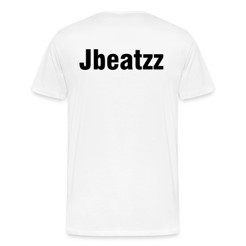 Jbeatzz T White - Men's Premium T-Shirt