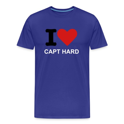 ** CAPT HARD ** - Men's Premium T-Shirt