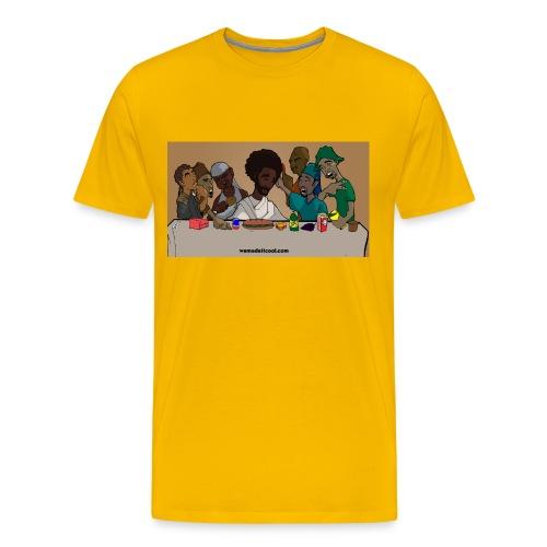 Last Supper Yellow T - Men's Premium T-Shirt