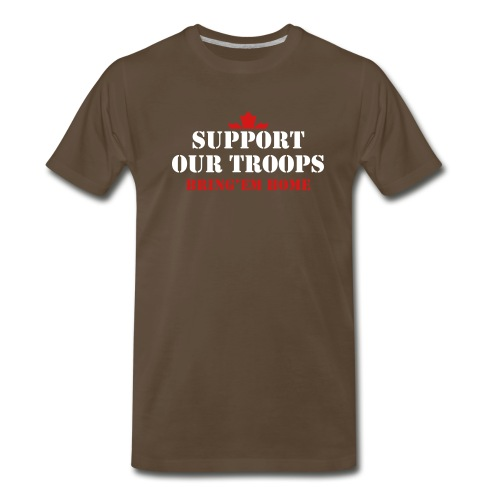 Support Our Troops Bring'em home - Men's Premium T-Shirt