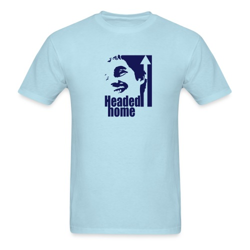Headed Home - Men's T-Shirt