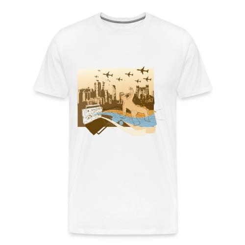 dFrNt - Men's Premium T-Shirt