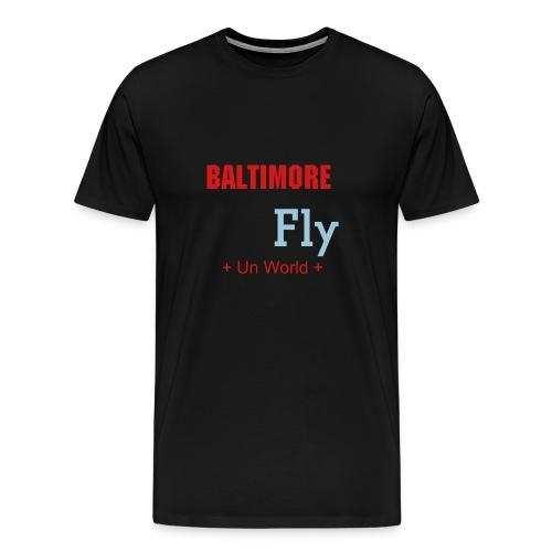 Baltimore Fly (Black) - Men's Premium T-Shirt