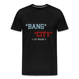 Bang City (Black) - Men's Premium T-Shirt