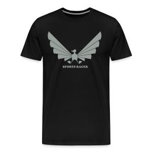 LOA - grey on black - Men's Premium T-Shirt