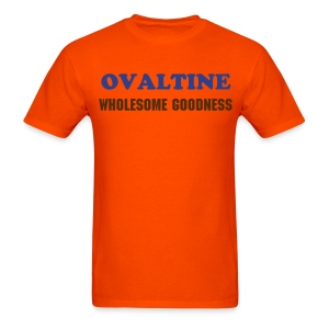 OVALTINE WHOLESOME GOODNESS - T-SHIRT - IZATRINI.com - Men's T-Shirt
