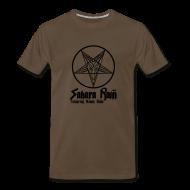 T-Shirts ~ Men's Premium T-Shirt ~ Men's Brown Sahara Rain