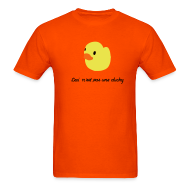 T-Shirts ~ Men's T-Shirt ~ duckie - orange