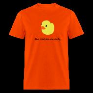 T-Shirts ~ Men's T-Shirt ~ duckie - orange