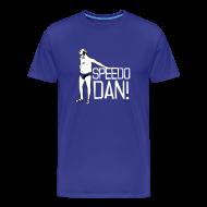 T-Shirts ~ Men's Premium T-Shirt ~ Men's Blue Speedo Dan