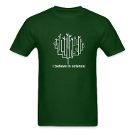 T-Shirts ~ Men's T-Shirt ~ Tree of Life: Dark Green
