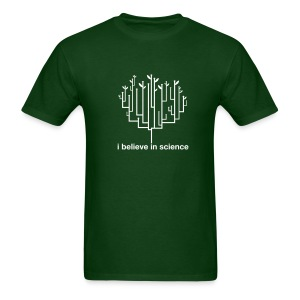 Tree of Life: Dark Green - Men's T-Shirt