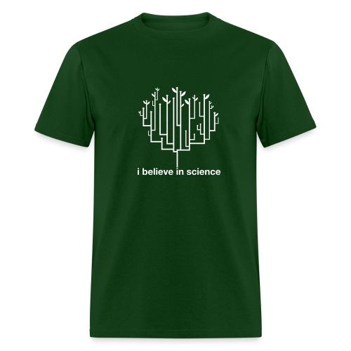 Tree of Life: Dark Green - Men's T-Shirt