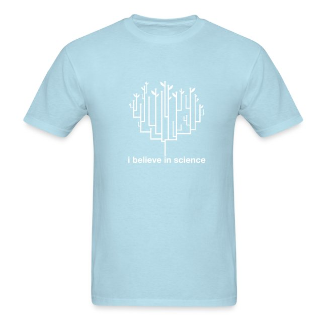 Tree of Life: Light Blue (White)