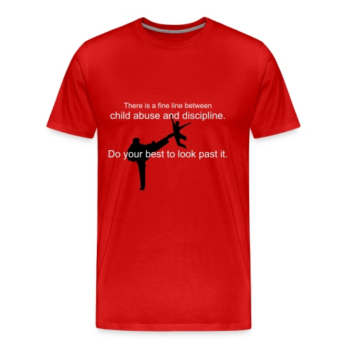 Good parenting. - Men's Premium T-Shirt