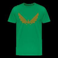 T-Shirts ~ Men's Premium T-Shirt ~ LOA - gold on green