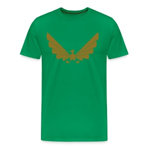 LOA - gold on green - Men's Premium T-Shirt